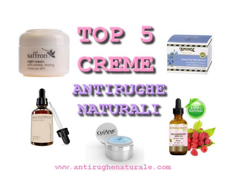 Le 5 Migliori Creme Antirughe Naturali - Antirughe..