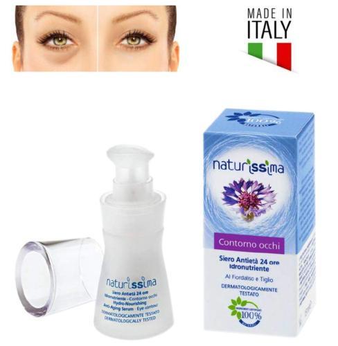 Naturissima Siero Contorno Occhi Antietà Antirughe Contro Borse e Occhiaie